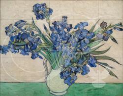 Irises Van Gogh Irises Wooden Jigsaw Puzzle