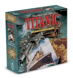Murder on the Titanic 8x8 Murder Mystery Jigsaw Puzzle