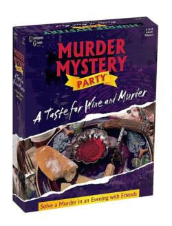 A Taste for Wine & Murder Game Murder Mystery