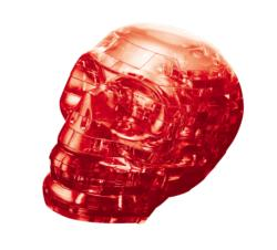 Skull (Red) Anatomy & Biology Crystal Puzzle