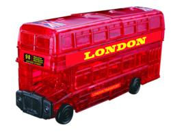 London Bus London Crystal Puzzle