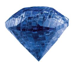 Sapphire Everyday Objects Crystal Puzzle