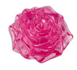 Rose (Pink) Flowers Crystal Puzzle