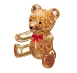 Teddy Bear (Gold) Bears Crystal Puzzle
