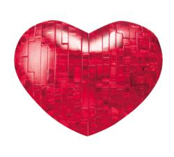 Heart (Red) Hearts Crystal Puzzle