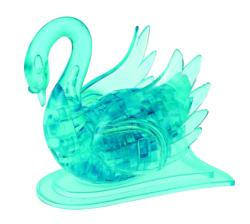Swan (Blue) Birds Crystal Puzzle