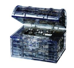 Treasure Chest (Black) Crystal Puzzle