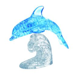 Dolphin (Blue) - Scratch and Dent Dolphins Crystal Puzzle