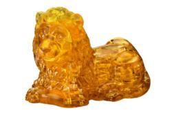 Lion Lions Crystal Puzzle