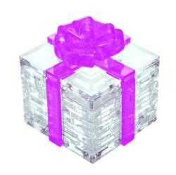 Gift Box (Pink) Everyday Objects Crystal Puzzle