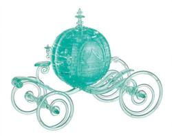 Cinderella Carriage (Aqua) Disney Crystal Puzzle