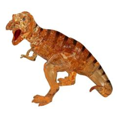Brown T-Rex Dinosaurs Crystal Puzzle