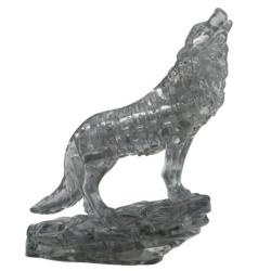 Black Wolf Father's Day Crystal Puzzle
