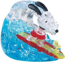 Snoopy Surf Movies / Books / TV Crystal Puzzle