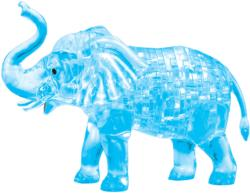 Blue Elephant Elephants Crystal Puzzle