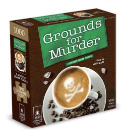 Grounds for Murder Murder Mystery Jigsaw Puzzle