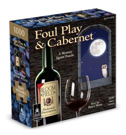 Foul Play & Cabernet Adult Beverages Jigsaw Puzzle