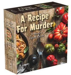 Recipe for Murder - Scratch and Dent Murder Mystery Jigsaw Puzzle