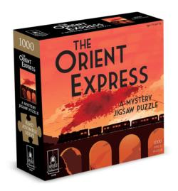 The Orient Express - Scratch and Dent Murder Mystery Jigsaw Puzzle