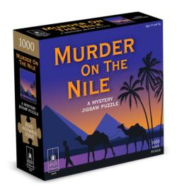 Murder On the Nile - Scratch and Dent Murder Mystery Jigsaw Puzzle