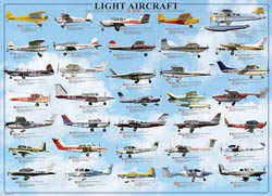 Light Aircraft Pattern / Assortment Jigsaw Puzzle