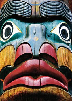 Totems Comex Native American Jigsaw Puzzle