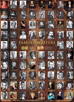 Famous Writers - Scratch and Dent Famous People Jigsaw Puzzle