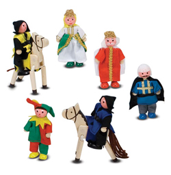 Castle Wooden Figure Set Toy