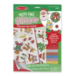 Mess-Free Glitter - Christmas Foam Stickers