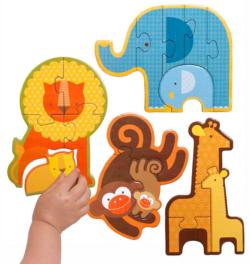 Safari Babies Jungle Animals Children's Puzzles