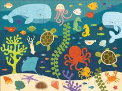Ocean Life Under The Sea Children's Puzzles