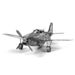 Mustang P-51 Boeing plane Military / Warfare Metal Puzzles