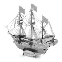 Golden Hind ship Boats Metal Puzzles