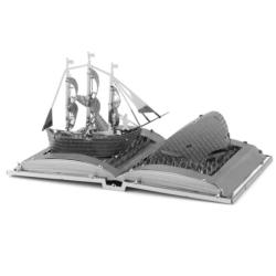 Moby Dick Book Sculpture Movies / Books / TV Metal Puzzles
