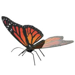 Monarch Butterflies and Insects Metal Puzzles