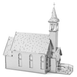 Old Country Church Churches Metal Puzzles