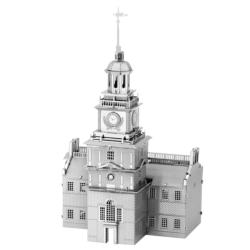 Independence Hall Landmarks / Monuments Metal Puzzles