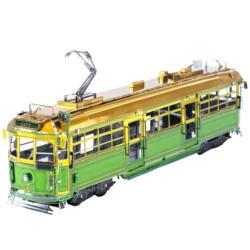 Melbourne W-class Tram Vehicles Metal Puzzles