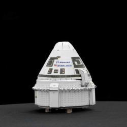 Boeing Starliner Space Metal Puzzles