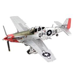"Mustang P51D ""Sweet Arlene"" Military / Warfare Metal Puzzles"