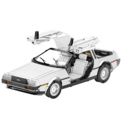 DeLorean Movies / Books / TV Metal Puzzles