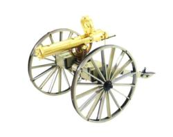 Wild West Gatling Gun Military / Warfare Metal Puzzles