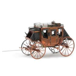 Wild West Wagon Vehicles Metal Puzzles