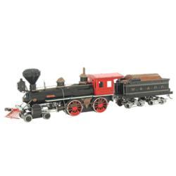 Wild West 4-4-0 Locomotive Trains Metal Puzzles