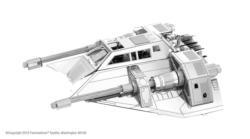 Snowspeeder Sci-fi Metal Puzzles