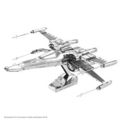 Poe Dameron's X-Wing Fighter Sci-fi Metal Puzzles
