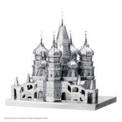 Saint Basil's Cathedral Churches Metal Puzzles