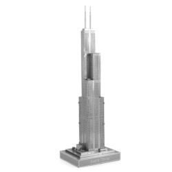Willis Tower Landmarks / Monuments Metal Puzzles