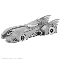 1989 Batmobile Super-heroes Metal Puzzles