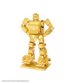 GOLD Bumblebee Cartoons Metal Puzzles